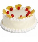 send Eggless Pineapple Cake Half Kg delivery