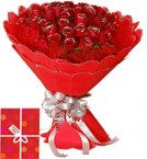 send 40 Red Roses Bouquet delivery