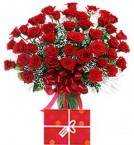 send 45 Red Roses Bouquet delivery