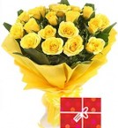 send 30 Yellow Roses Bouquet delivery