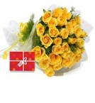 send 50 Yellow Roses Bouquet  delivery