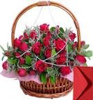 send 35 Red Roses Basket delivery
