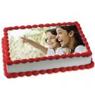 send 2 Kg Eggless Chocolate Photo Cake delivery