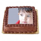 send 3Kg Chocolate Photo Cake delivery