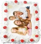 send 3Kg Vanilla Photo Cake delivery