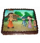send 1Kg yummy Chotta Bheem Cartoon Cake delivery
