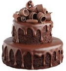 send 2-Tier Chocolate Cake delivery