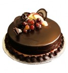 send Half Kg Chocolate Truffle Eggless Cake delivery