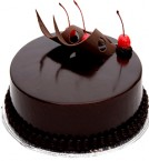 send Eggless Chocolate truffle cake 500gms delivery