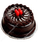 send 1Kg Chocolate Truffle Eggless Cake delivery