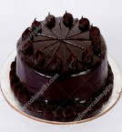 send Truffle Eggless Cake 500gms delivery