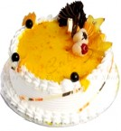 send Mango Eggless Cake 1Kg delivery
