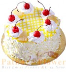 send Delicious Pineapple Eggless Cake delivery
