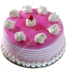 send 500gms Eggless Strawberry Cake delivery