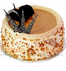 send 1Kg Butterscotch Eggless Cake delivery