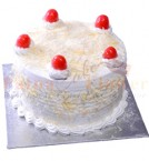 send White Chocolate White Forest Cake delivery
