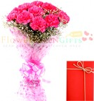 send 10 Pink carnations delivery