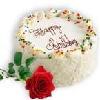 send Eggless Butterscotch Cake Half Kg  delivery