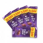 send Cadbury Dairy Milk 5 Pieces  delivery