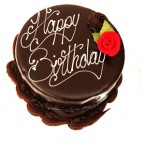 send Chocolate Truffle Eggless Cake Half Kg delivery