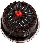 send Half Kg Dutch Chocolate Eggless Cake delivery
