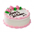 send half Kg Strawberry Eggless Cake delivery