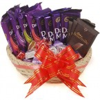 send Cadbury Chocolate Combo With Basket delivery