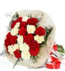 send Mix Carnations Flower bouquet delivery