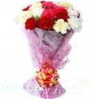 send Carnations Flower bouquet delivery