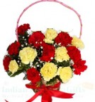 send 15 Carnations Flower bouquet delivery