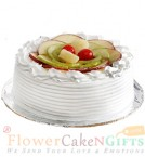 send 2kg Eggless Mixed Fruit Cake delivery