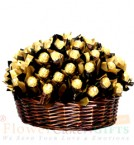 send Designer Ferrero Rocher Chocolate Basket delivery