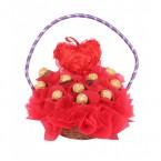 send ferrero rocher chocolate gift baskets delivery