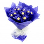 send 16 piece Ferrero Rocher chocolate bouquet delivery
