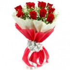 send roses flower bouquet delivery