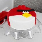 send 1kg Angry Bird Fondant Cake delivery