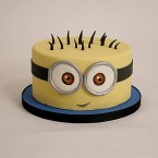 send 2kg Minion Cartoon Cake delivery