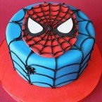 send 1kg Spiderman Fondant  Cake delivery