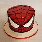 send 1kg Glorious Spiderman Fondant Cake delivery
