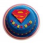 send 1kg Super Dad Designer Cake delivery