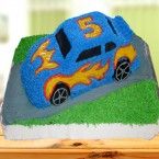 send 3Kg Car Shape cake delivery