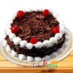 send 1Kg Black Forest Cake  delivery