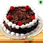 send 1Kg Eggless Black Forest Cake  delivery
