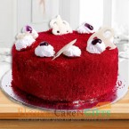 send half kg eggless red velvet cake delivery
