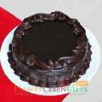 send Half Kg Chocolate Truffle Cake delivery