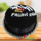 send half kg eggless chocolate truffle cool cake delivery
