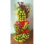send 100 roses arrangement delivery
