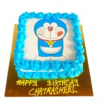 send 1kg doraemon photo cake delivery