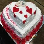 send 2 tier vanilla cake 5 kg delivery