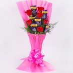 send best dairy milk chocolate bouquet delivery